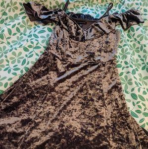 Velvet/velor American Eagle dress!